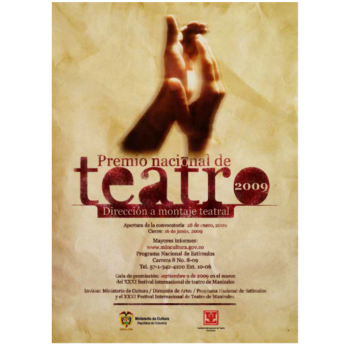 teattro poster